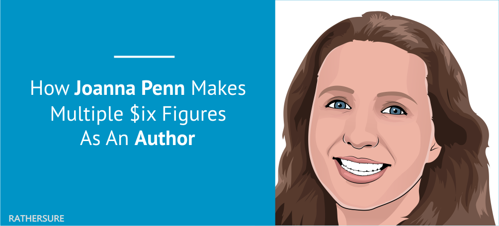 How Joanna Penn Makes Multiple Six Figures From Her Digital Business As An Author [Case Study]