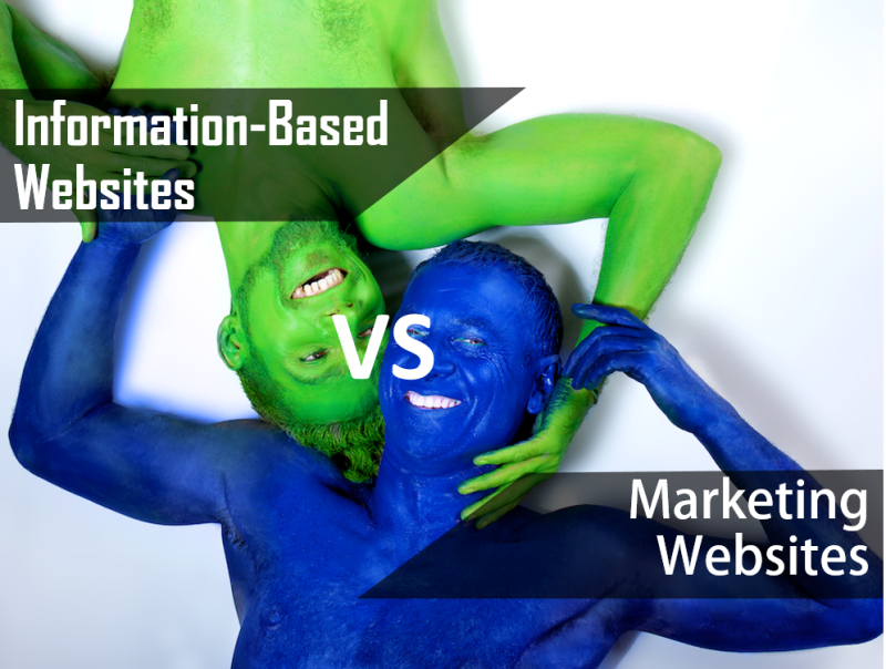 Information-Based Websites vs Marketing Websites Which One Drives More Leads- RatherSure