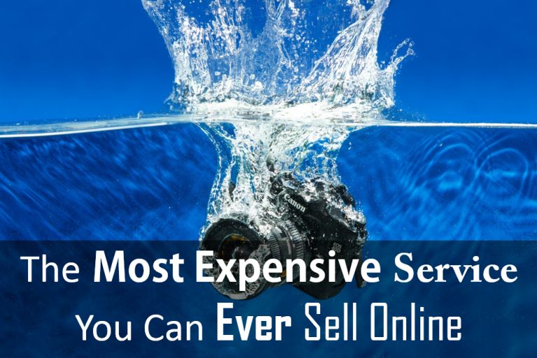 The Most Expensive Service You Can Ever Sell Online