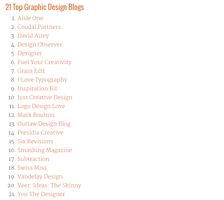 top graphic design blogs