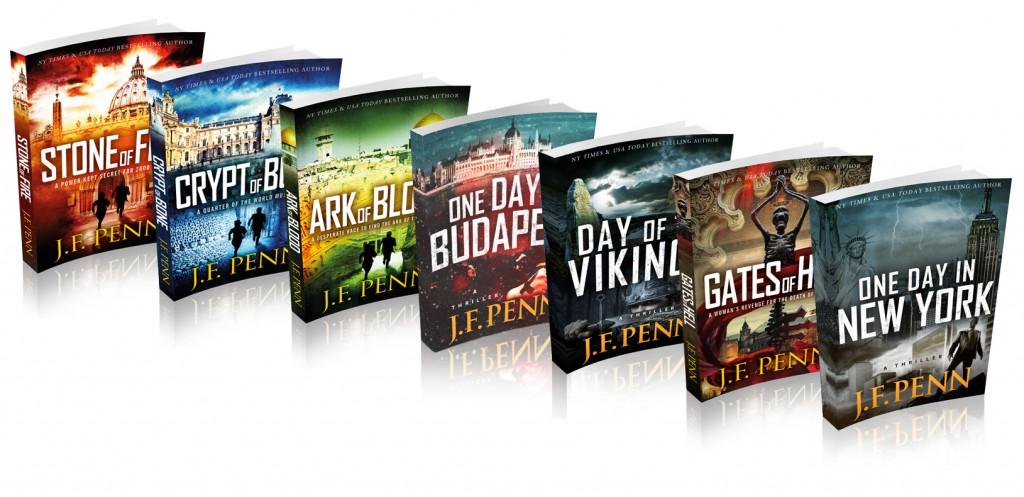 Joanna Penn's Arkane series