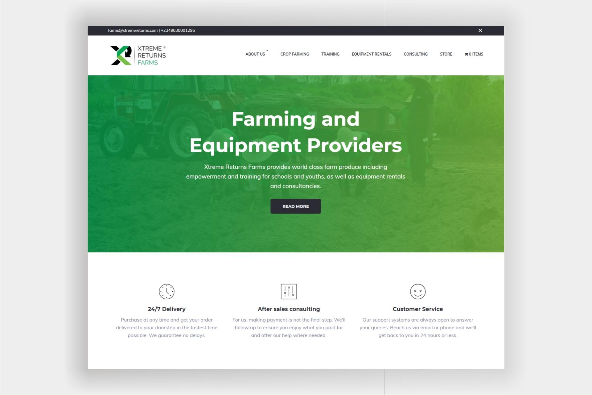 Xtreme Returns website